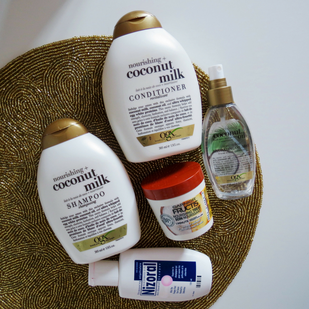 My Coco(nutty) Haircare Routine