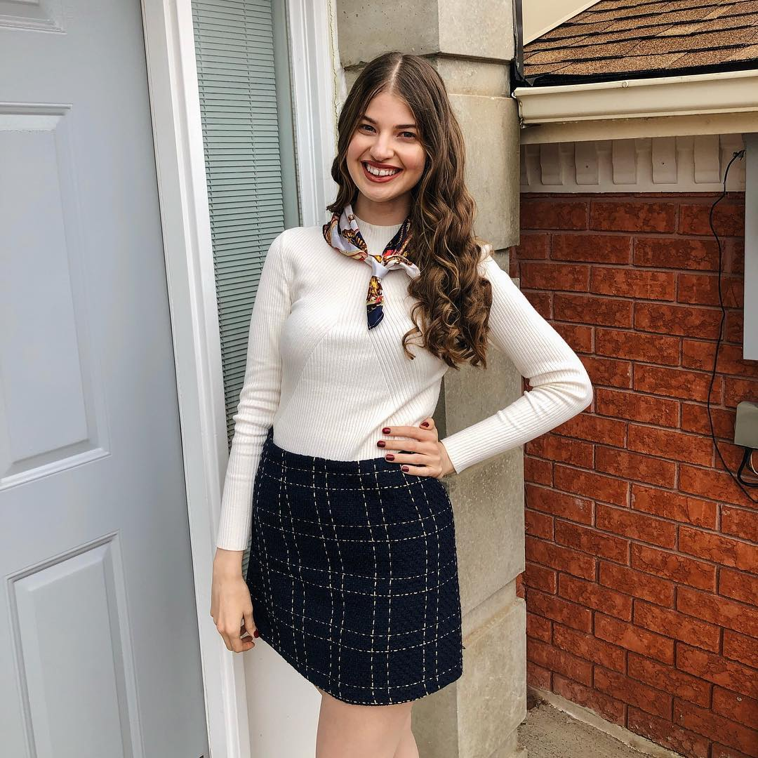 Prep School Inspired Outfit