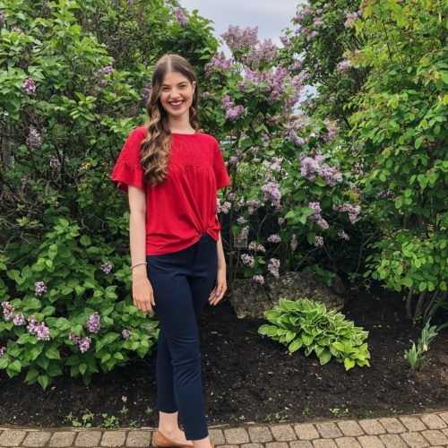 Lilies in Bloom and Brunch Outfit